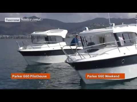 Parker 660 WEEKEND y Parker 660 PILOTHOUSE
