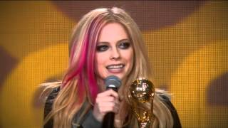 Avril Lavigne - Recieves Award 2 - World Music Awards 2007