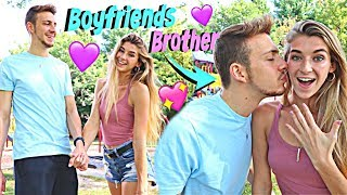 Replacing My BOYFRIEND With His BROTHER...