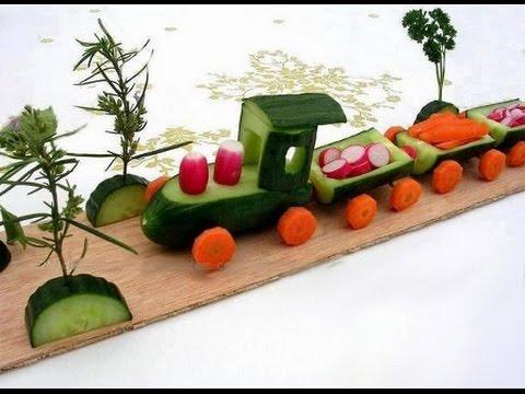 Поделки из фруктов своими руками для детского сада фото