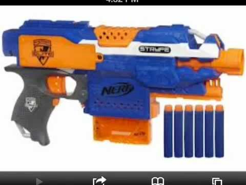 New nerf guns for winter 2013 and spring 2013