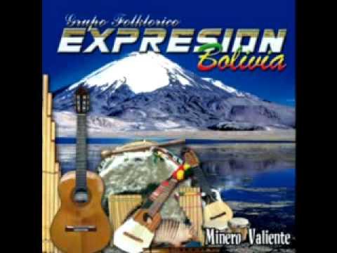 PRIMICIA 2012 EN MUSICA NACIONAL GRUPO FOLKLORICO EXPRESION BOLIVIA: MINERO VALIENTE