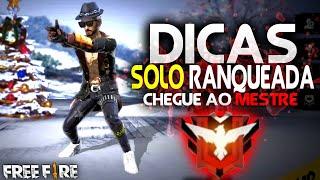 DICAS SOLO RANQUEADA FREE FIRE BATTLEGROUNDS