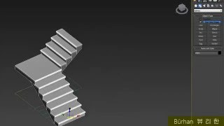 3Ds Max - Create Stairs Tutorial
