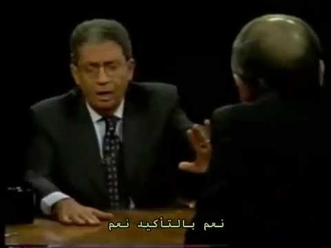 Amr Moussa VS shlomo Ben Ami (10 September ,2000) - عمرو موسي يا ريسنا
