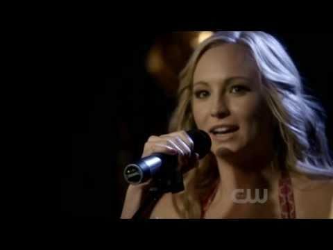 The Vampire Diaries | Season 2 Episode 16 | 2x16 | Caroline Singing Scene | Bangles | Eternal Flame video