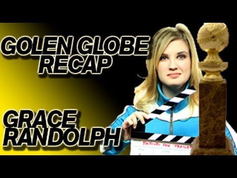 Grace Randolph's Golden Globe 2013 Recap