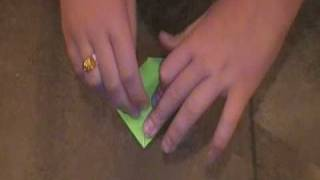 How To Make An Origami Tree Frog