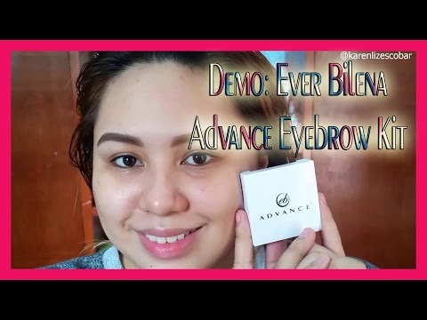 EB Advance Eyebrow Kit (Demo)   karenlizTV