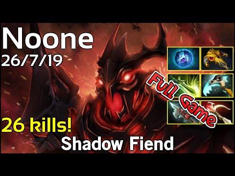 Noone Shadow Fiend Dota 2 Full Game 7.17