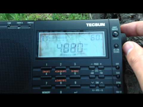 Tecsun PL-660: SW Band Scan 60m