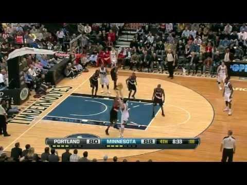 Portland Trail Blazers Vs Minnesota Timberwolves Mar 7, 2012 Game Recap