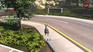 Goat Simulator [2014] - Gameplay HD - AMD Athlon II X4 631 & HD6450 1GB