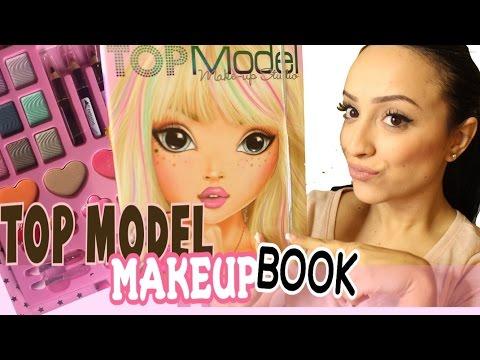 LET'S TRY TOP MODEL MAKEUP BOOK!!!💄💋