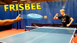 Frisbee Ping Pong