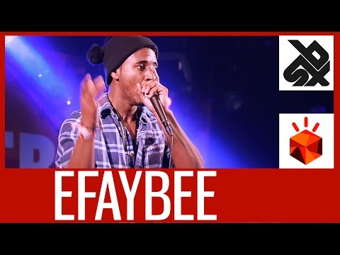 EFAYBEE (FRANCE)  |  Grand Beatbox Battle 2015  |  SHOW Battle Elimination
