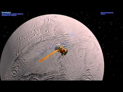 """Cassini """"E21"""" Enceladus Flyby"""