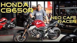 2019 Honda CB650R Neo Cafe Racer Walkaround