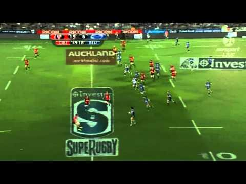 Blues v Crusaders extended highlights
