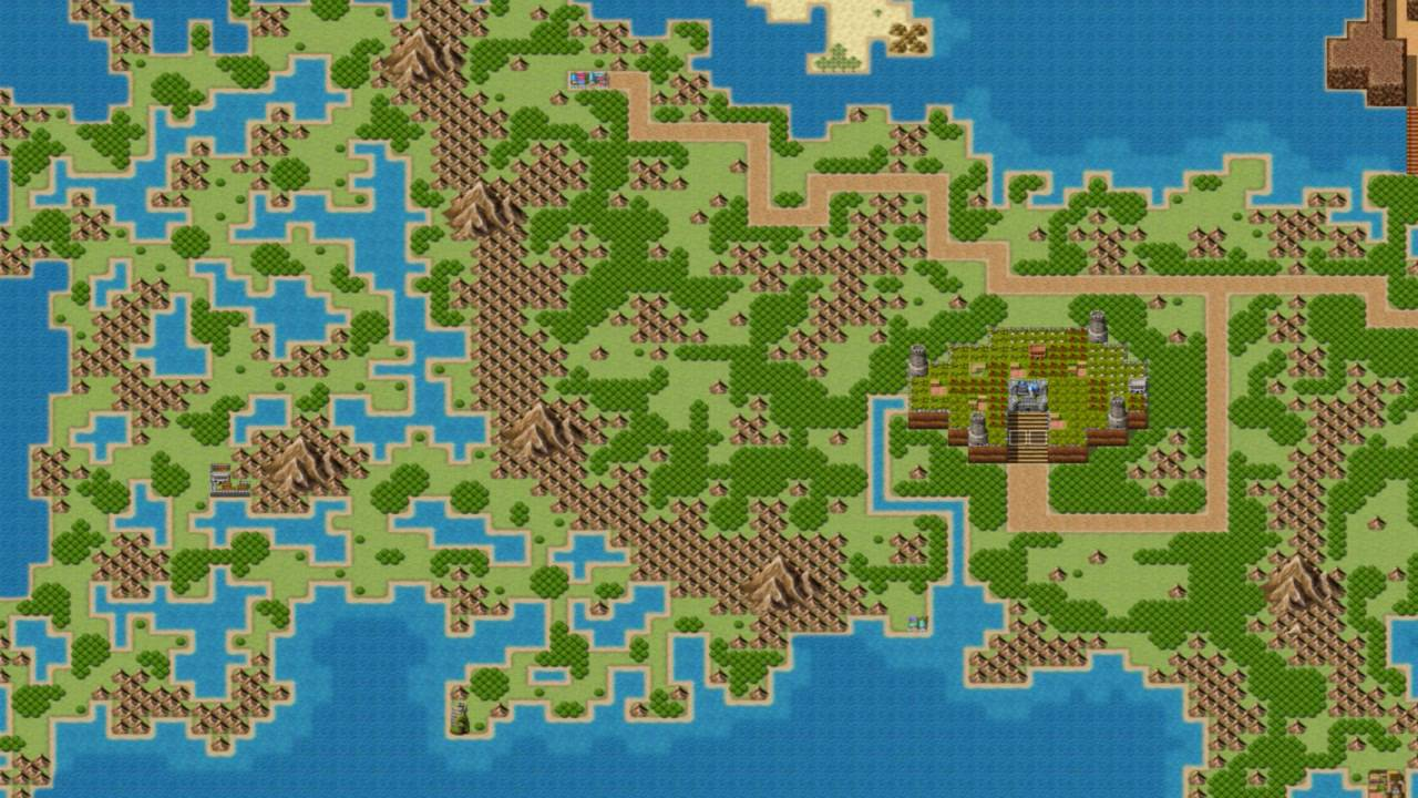 RPG Maker VX Wo... Game Of Thrones World Map