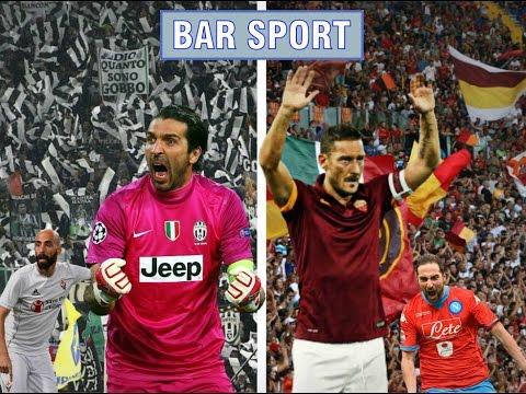 FIORE-JUVE 1-2; ROMA-NAPOLI 1-0!!! (BAR SPORT)