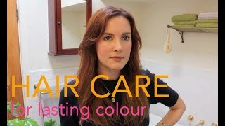 How I keep my hair colour vibrant and cover my regrowth!
