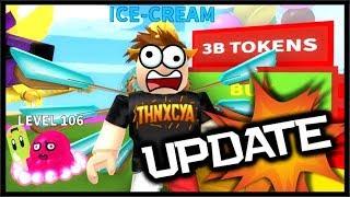 *RARE* Pet Gachapon Update, OP BEST Cone & Ice Cream! | Roblox Ice Cream Simulator