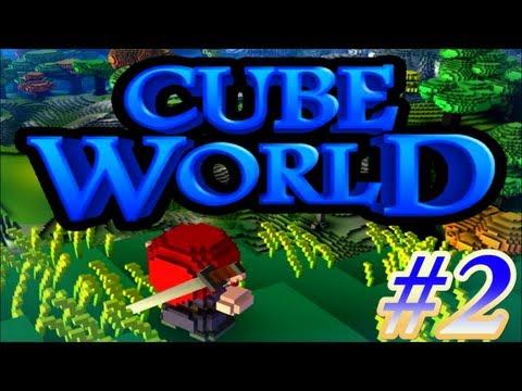 CubeWorld - Сказочные похождения #2 - Учимся с напарником!