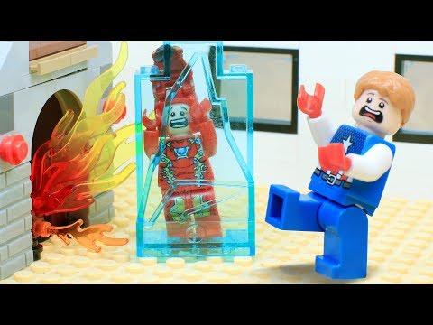Lego Iron Man: Freezing Christmas