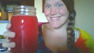 Watermelon Juice to help with Nausea and help increase milk supply when breastfeeding