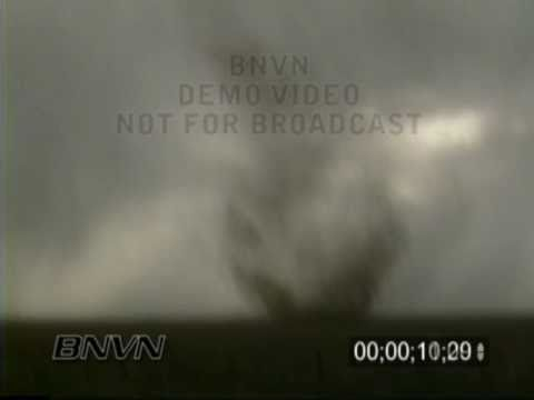 5/31/1996 Stephens County Kansas Dust Whirl Stock Video