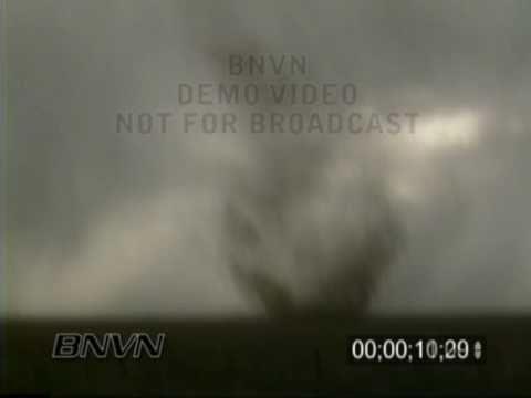 5/31/1996 Stephens County Kansas Dust Whirl Stock Video