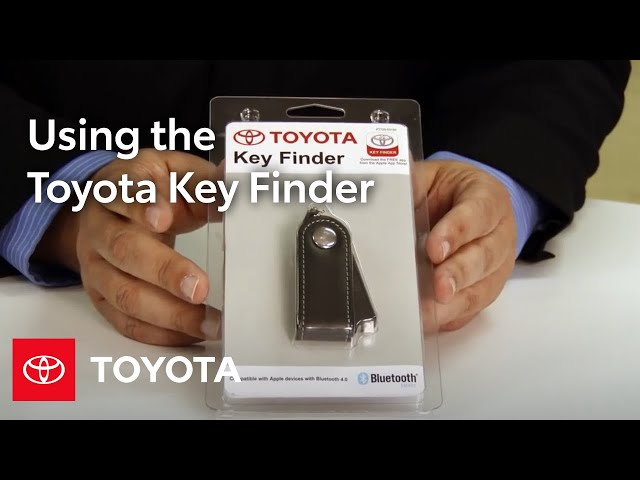 Toyota Key Finder: How To | Toyota - YouTube