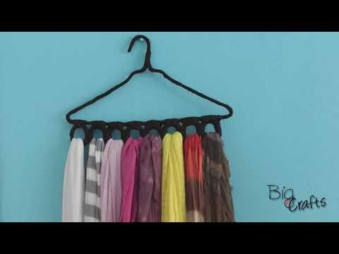 3 ideas para organizar tus bufandas