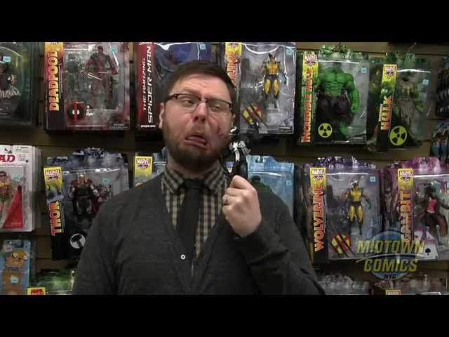 Venom Marvel Select Action Figure Unboxing