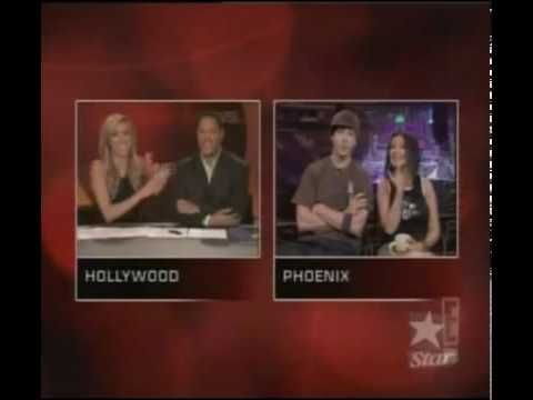 Christina Aguilera and Justin Timberlake ET News Interview 2003