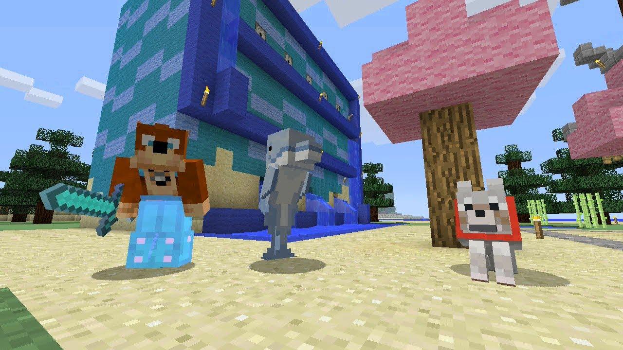 Minecraft Xbox - Japanese Garden [134] - YouTube