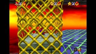 Super Mario 64 - Bowser In the Fire Sea (new strat) - (TAS)