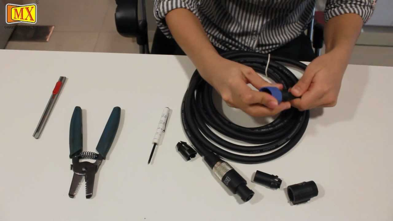 speakon to 1 4 wiring how to make    speakon    cable youtube  how to make    speakon    cable youtube