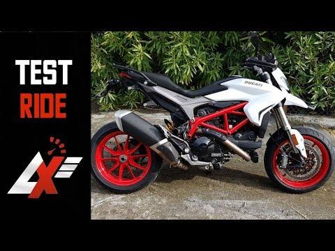 2018 Ducati Hypermotard 939 TEST RIDE (RAW SOUND)
