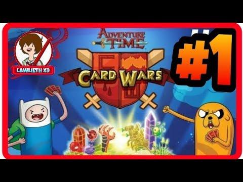 Card Wars: #1   Gameplay   ESPAÑOL   HORA DE AVENTURA  