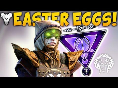 Destiny 2: HUGE EASTER EGGS & SECRETS! Randal the Vandal, Hive DLC, The Nine, Stranger, Eris Morn