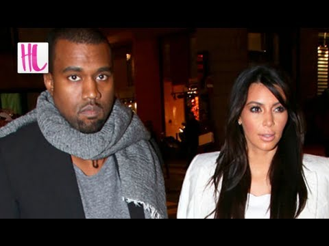 Kim Kardashian & Kanye West Fight Over Privacy Issues