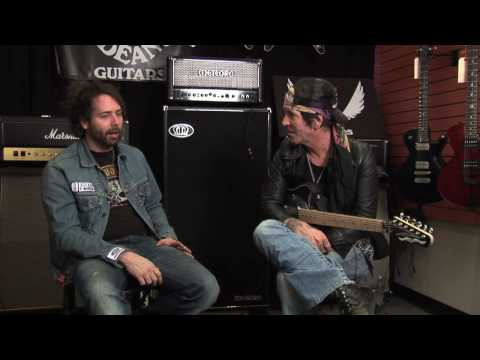 Tracii Guns of LA Guns - Dean USA Tracii Guns Signature NashVegas. Part 2 of 2
