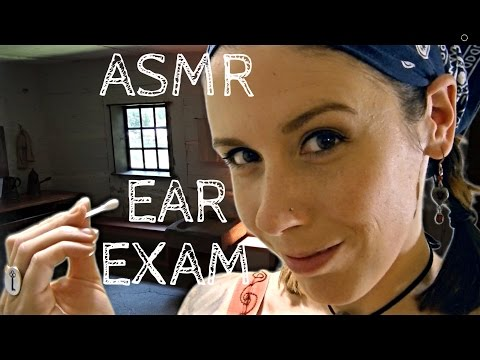 ASMR Ear Cleaning & Exam: Welcome to the Commune II, A Binaural Role Play