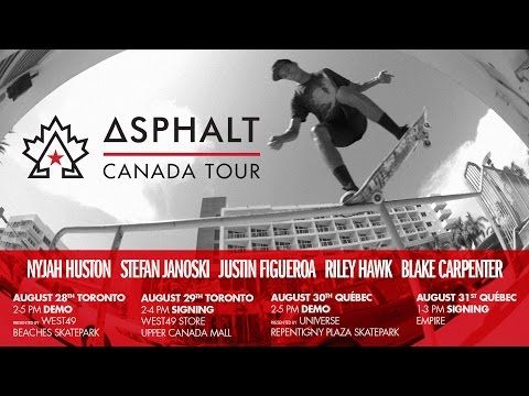 ASPHALT - CANADA TOUR