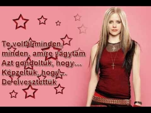 Avril Lavigne -  My Happy Ending Magyar video