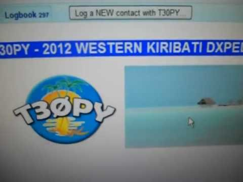 T30PY-2012 WESTERN KIRIBATI DXPEDITION-18:58 utc - 19-Oct-2012 - 20 meters band