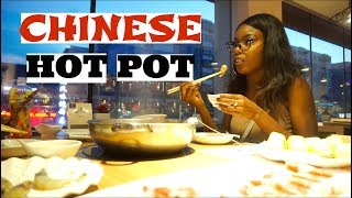 BLACK GIRL VS MOUTH-NUMBING HOT POT IN CHINA!!