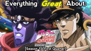 Everything Great About: JoJo's Bizarre Adventure: Stardust Crusaders (First Quarter)